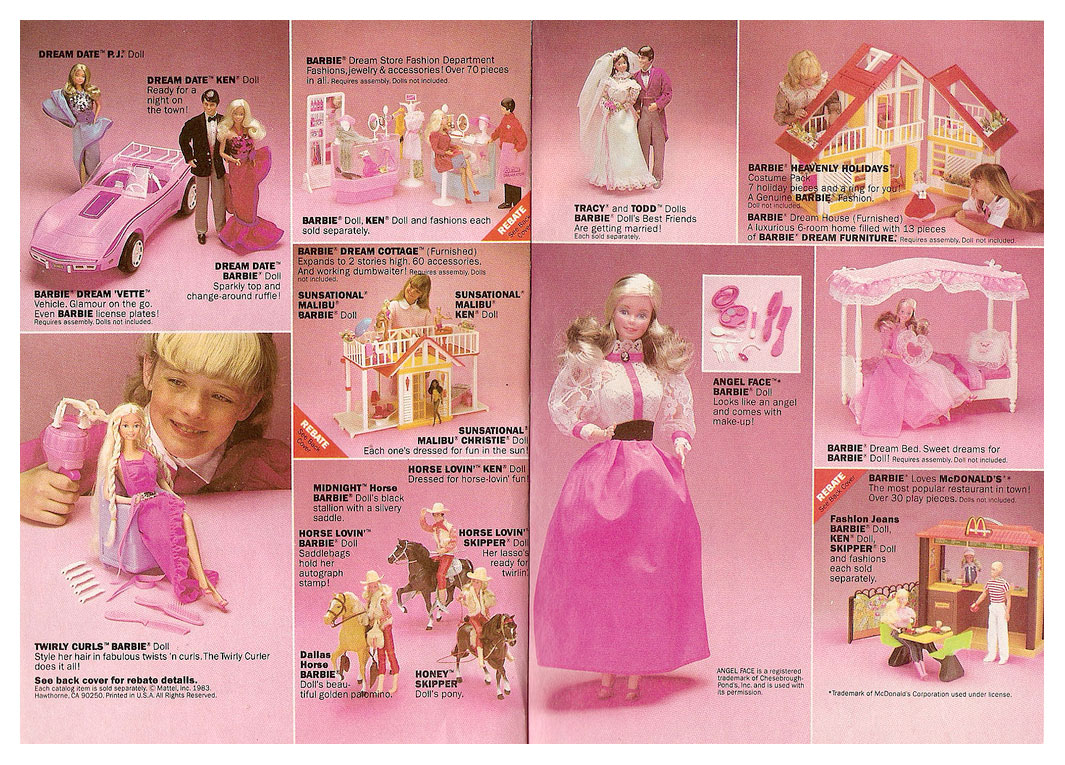 1983 Mattel Wish List brochure