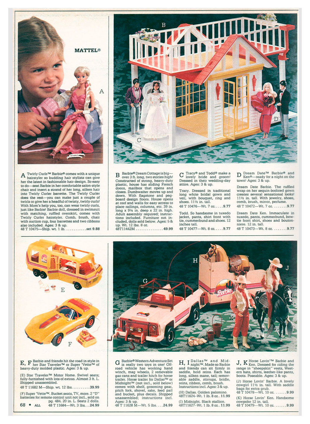 From 1983 Montgomery Ward Christmas catalogue