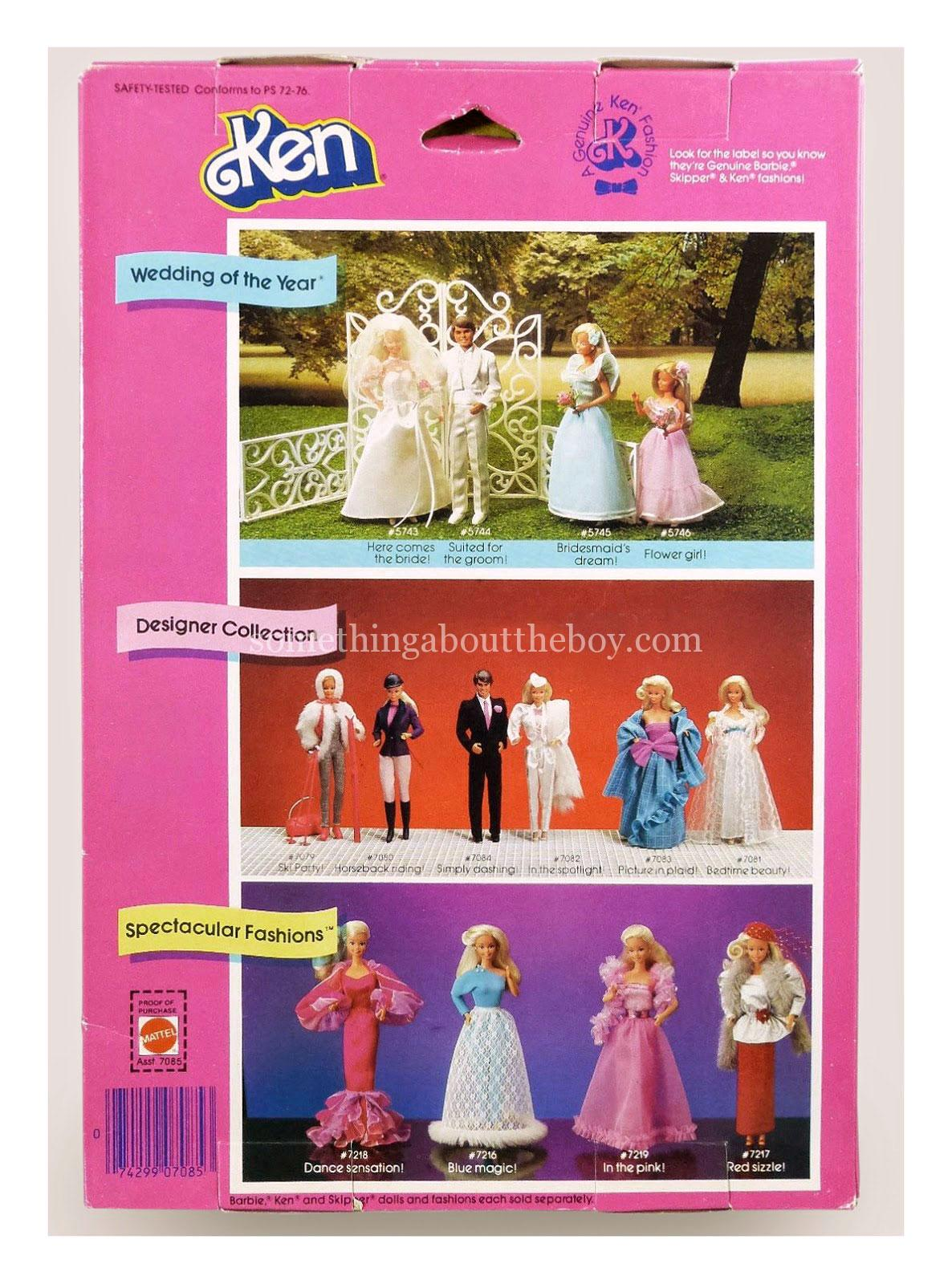 1984 Designer Collection #7084 original packaging
