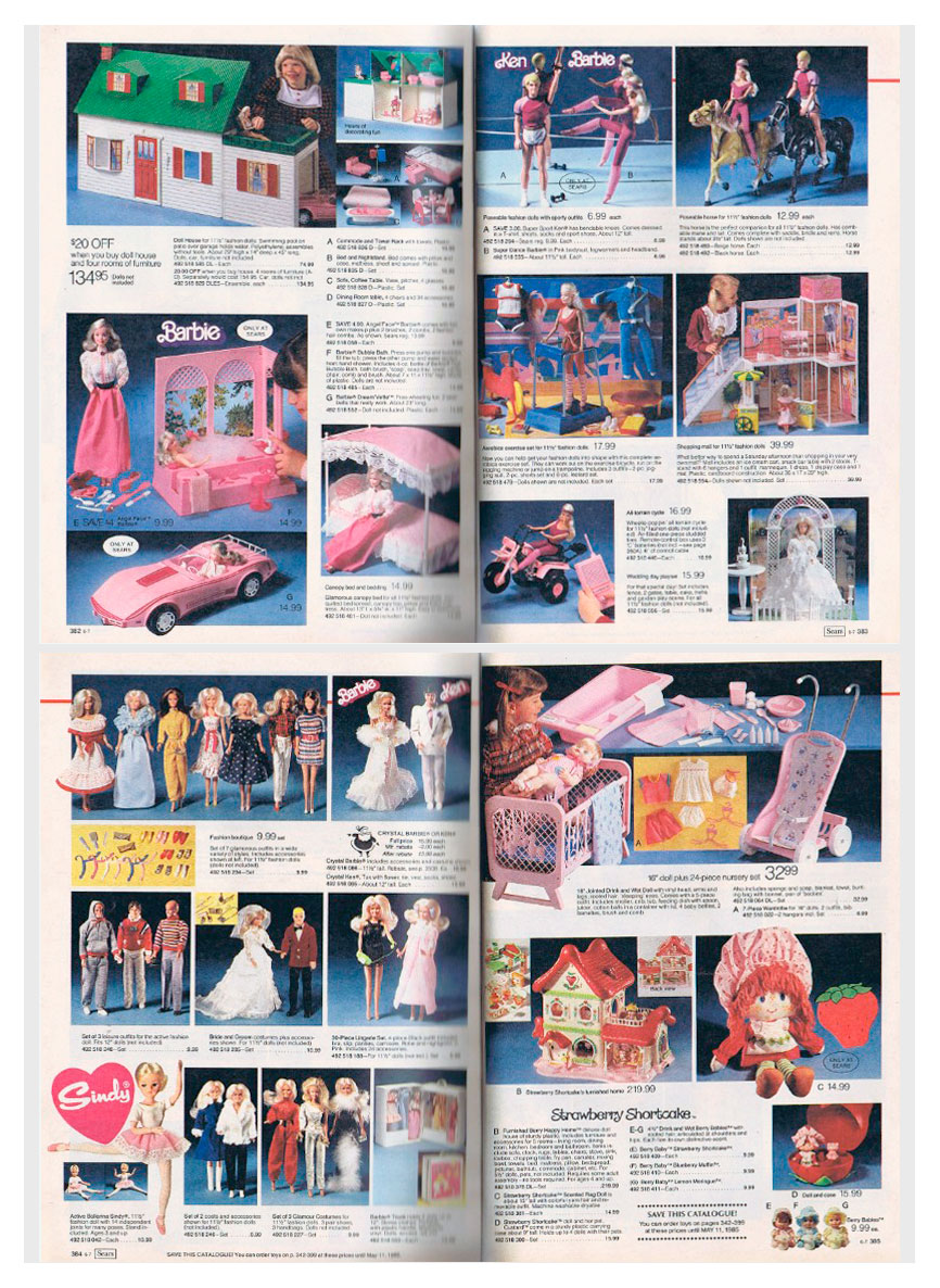 From 1984 Canadian Sears Christmas Wish Book