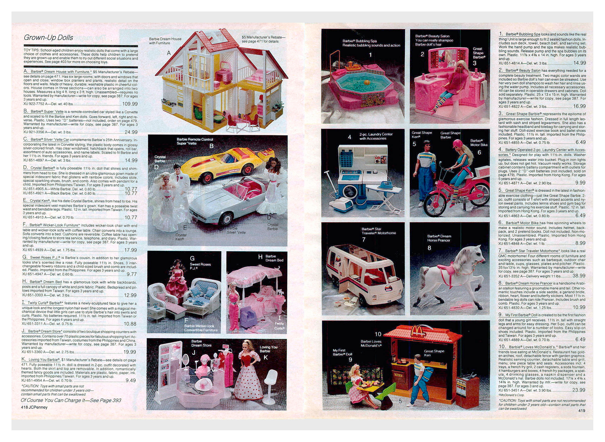 From 1984 JCPenney Christmas catalogue
