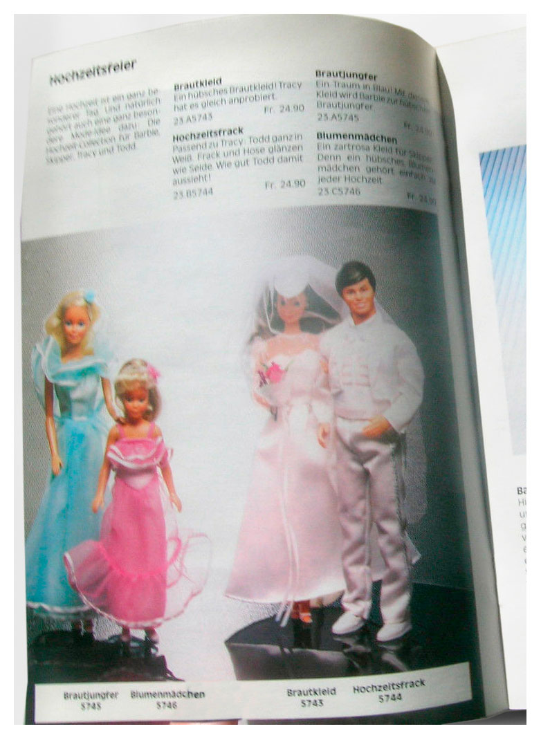 From 1984 Swiss Barbie booklet