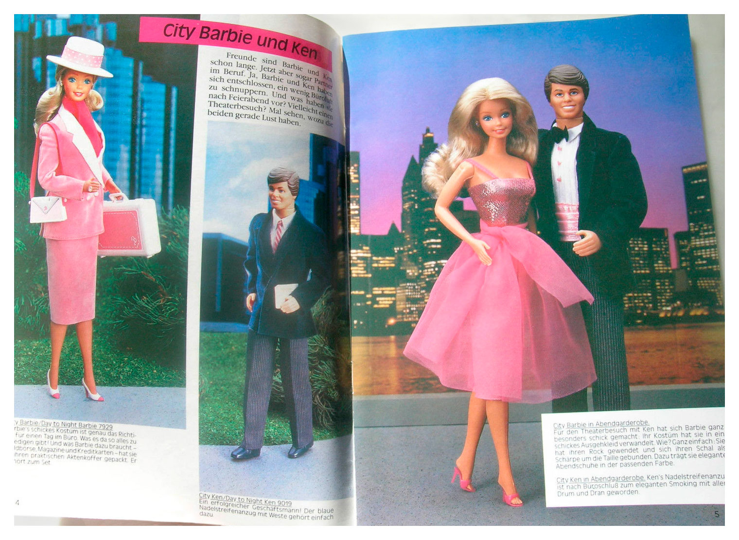 From 1985 German Barbie Journal