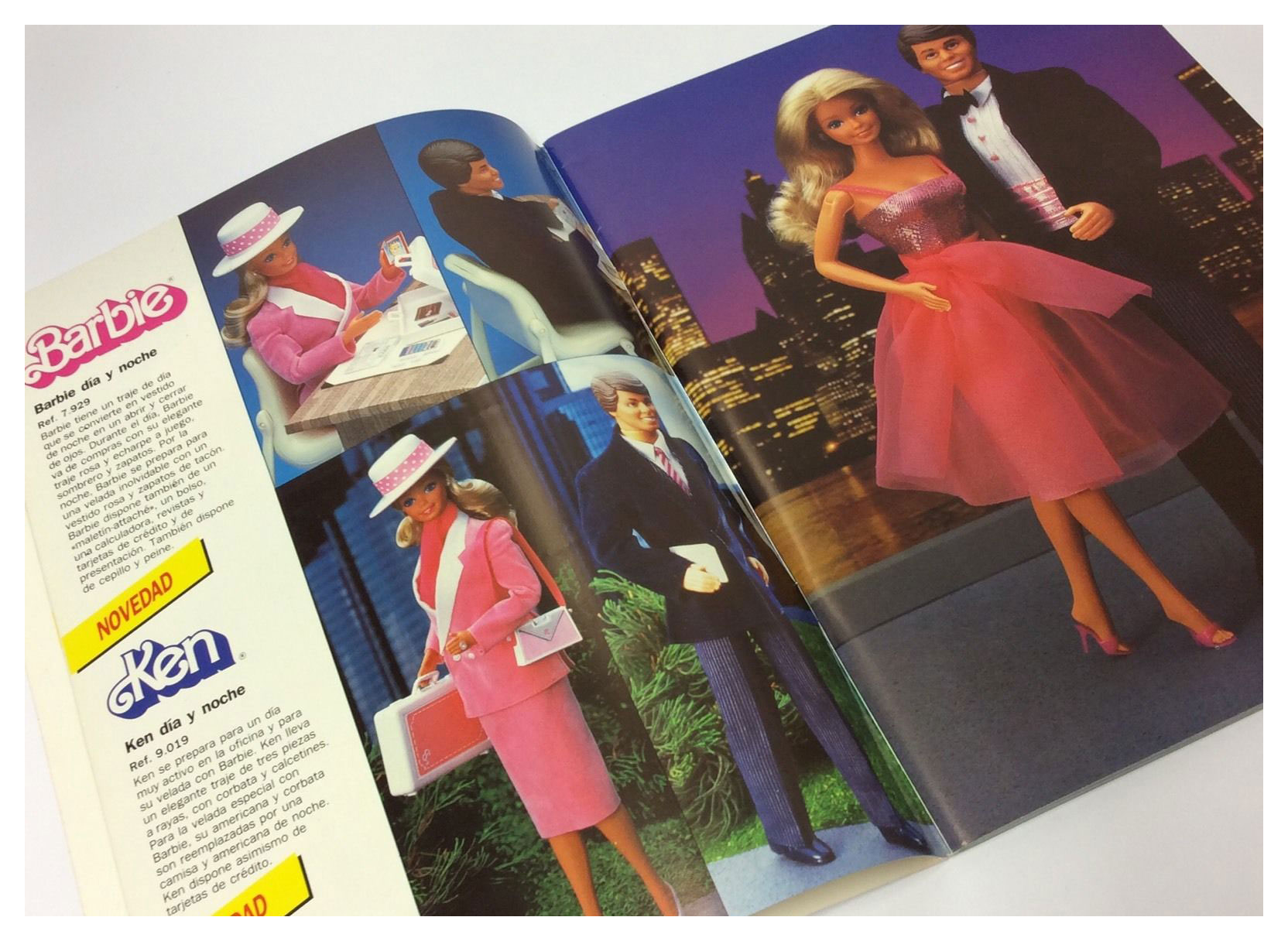From 1985 Spanish Mattel catalogue