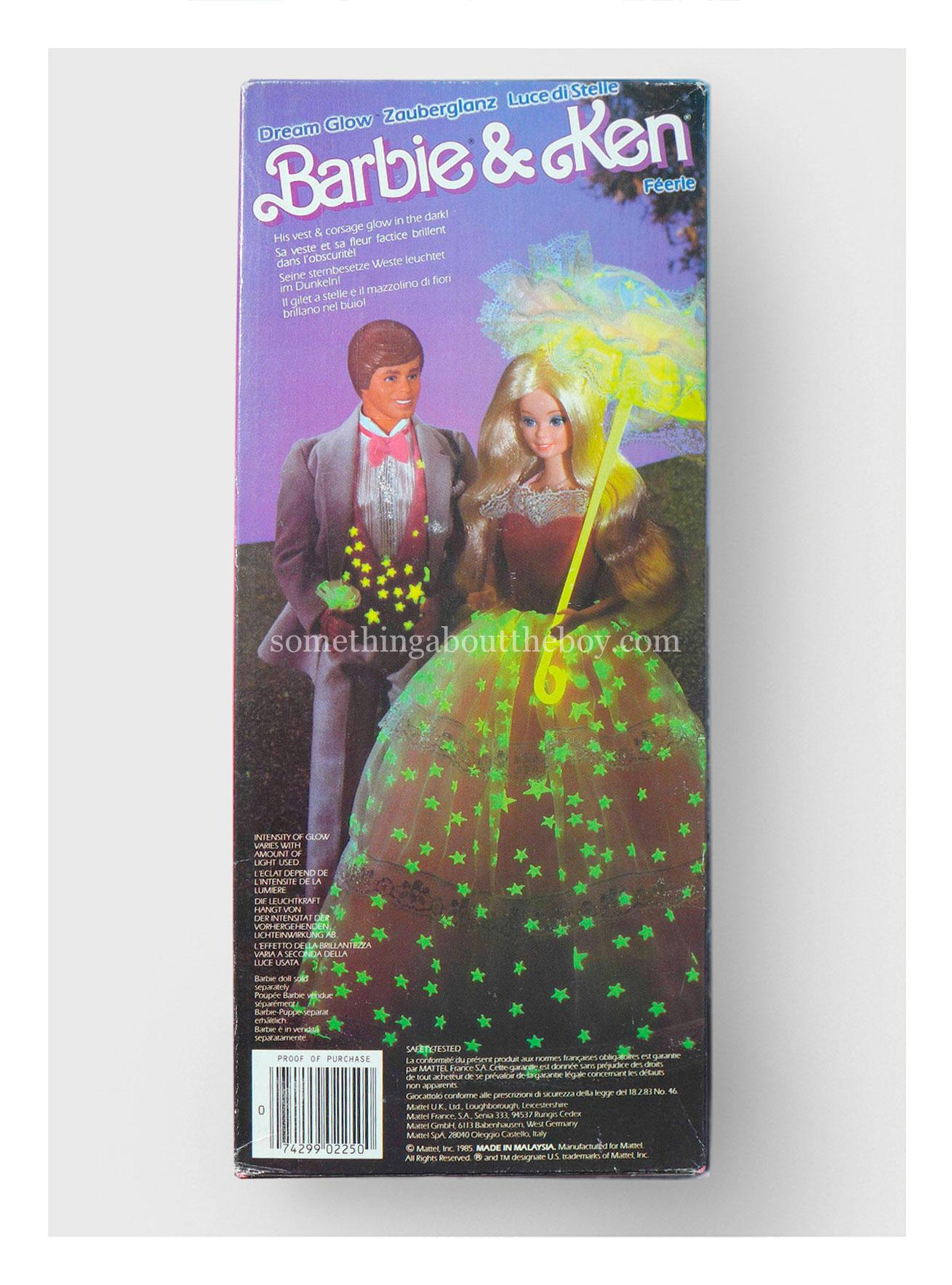 1986 #2250 Dream Glow Ken (European version)