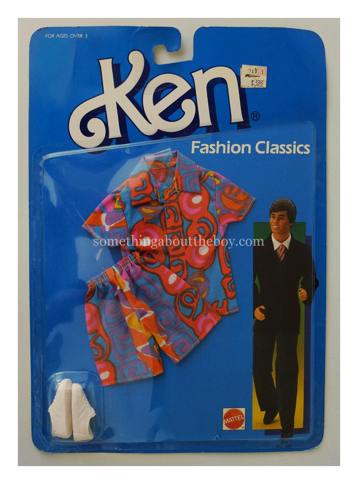 1986-87 Kmart Fashion Classics #2892 in original packaging