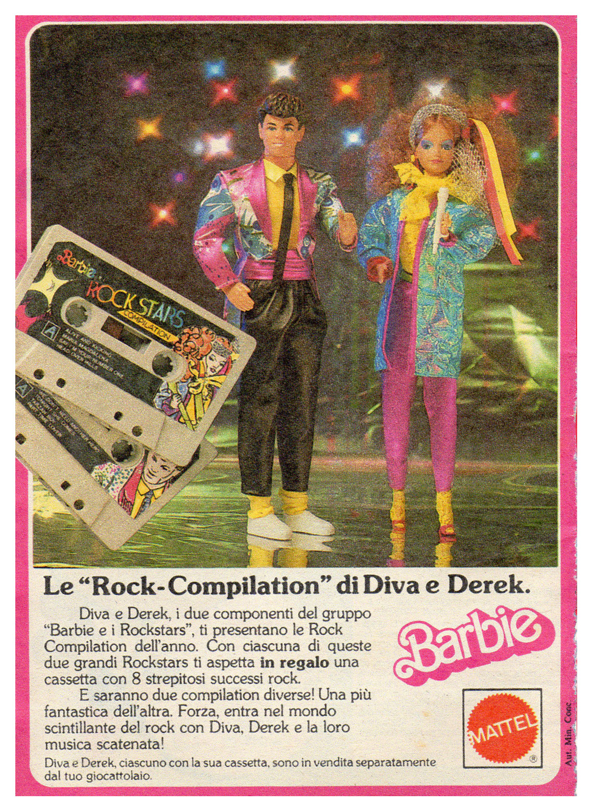 1986 Italian Rock Stars Derek advertisement