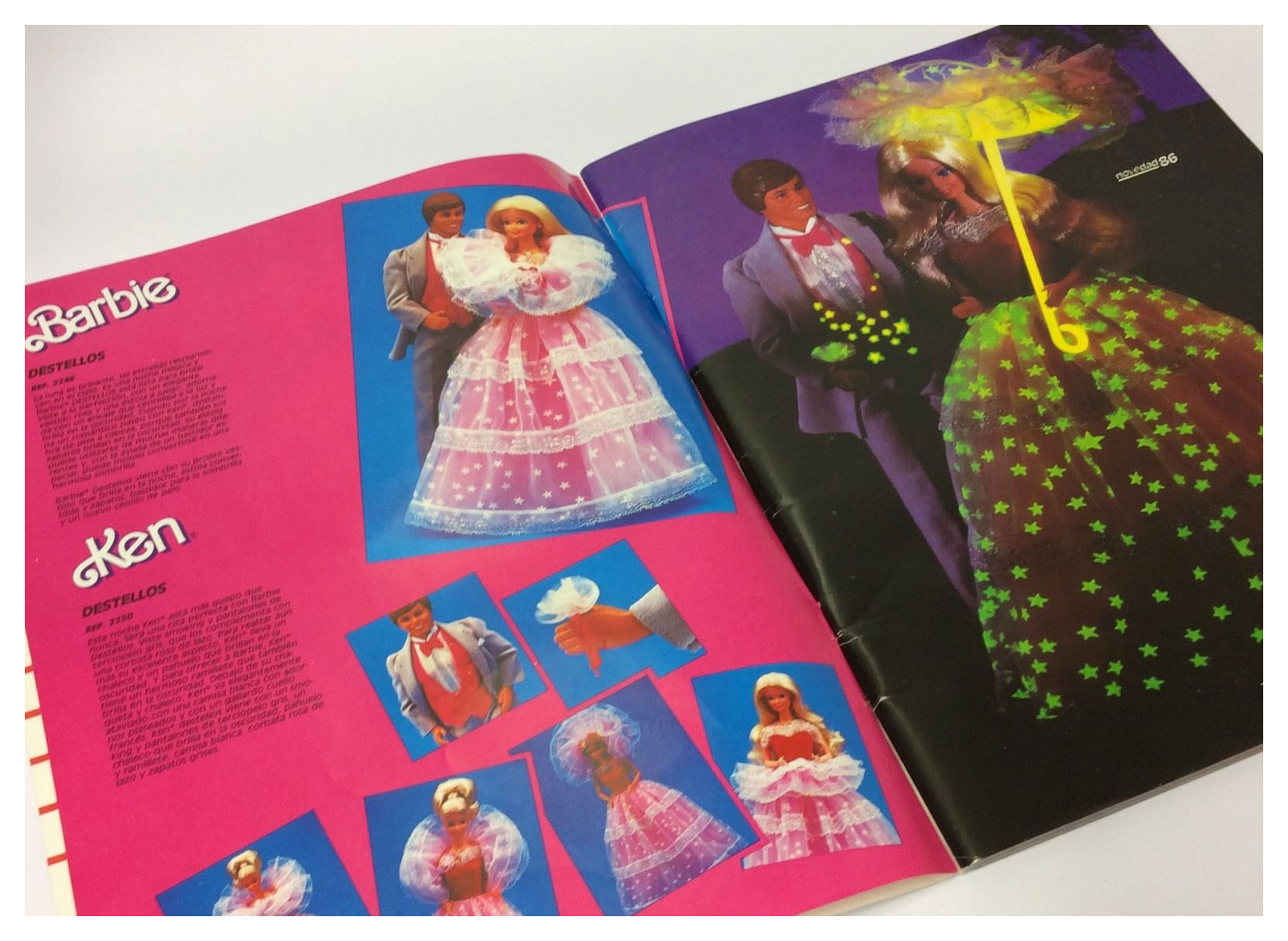 From 1986 Spanish Mattel catalogue