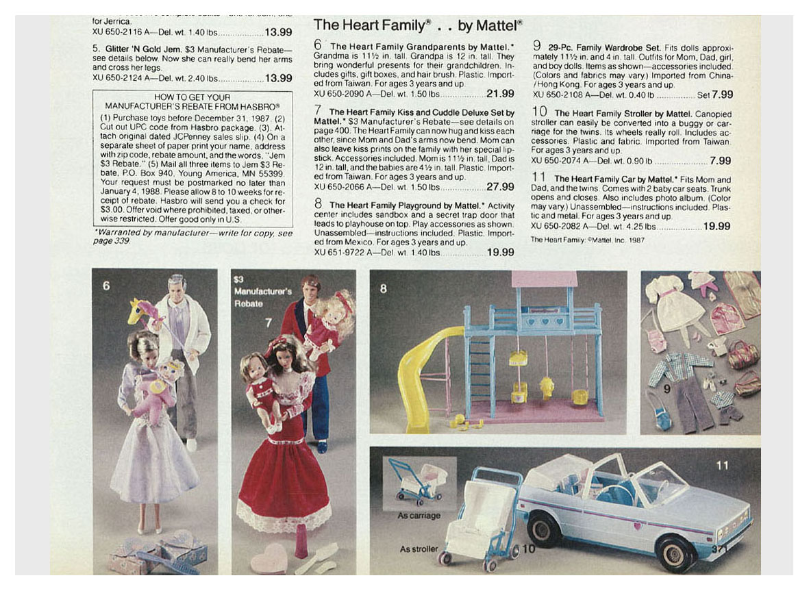 From 1987 JCPenney Christmas catalogue