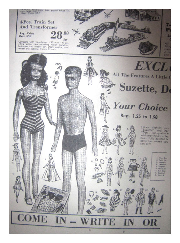 Advertisement for Suzette & Don