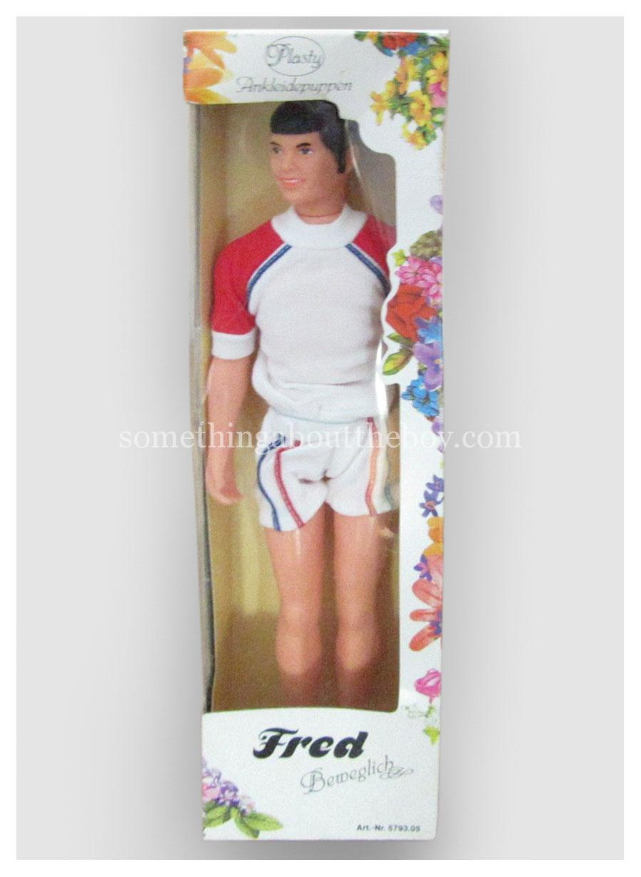c.1980 Fred by Plasty in original packaging