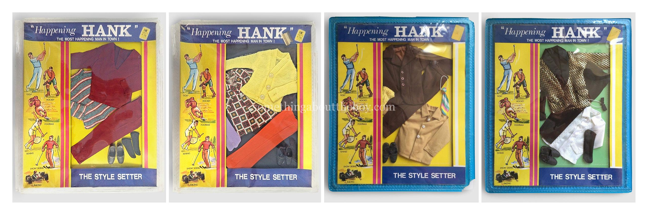 """""""Happening Hank"""" outfits by Peggy Ann Dolls"""
