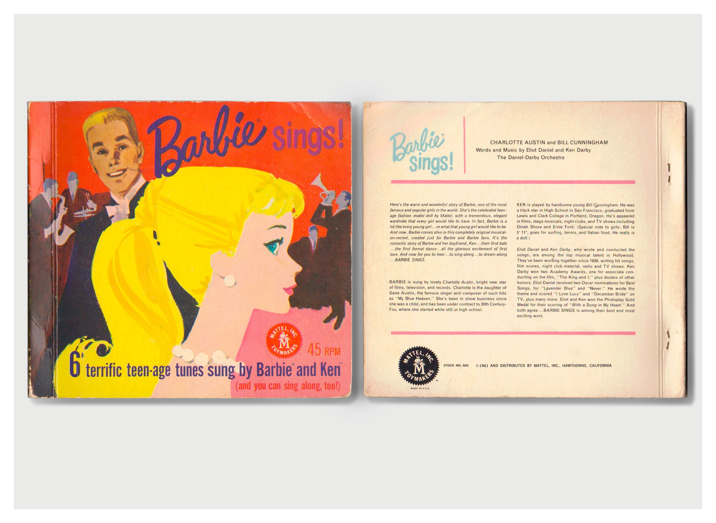1961 Barbie Sings! record