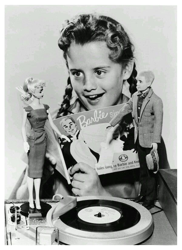 1961 Publicity photo for Barbie Sings record