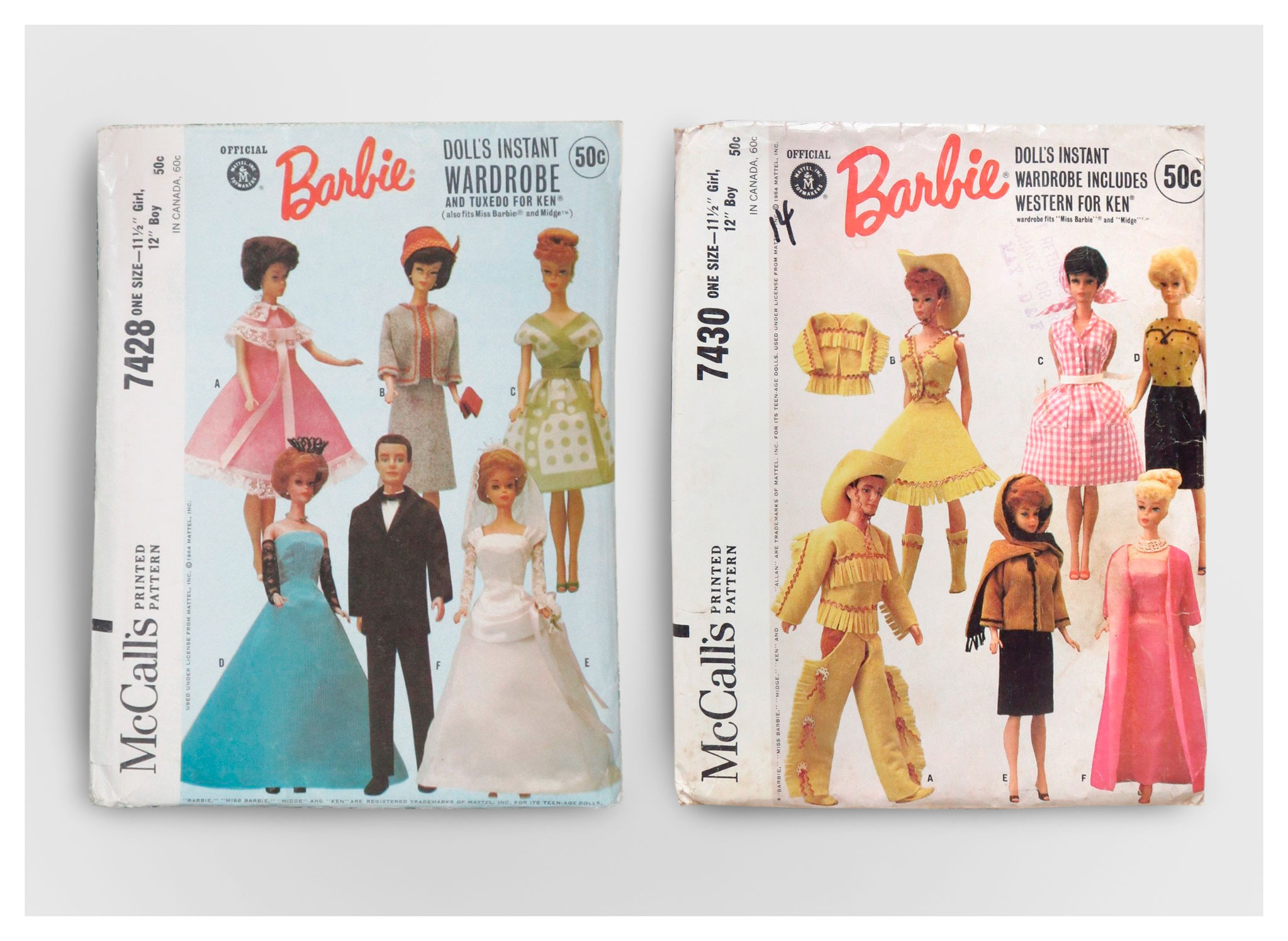 Mattel McCalls pattern kits