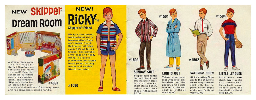 From 1965 Ricky booklet