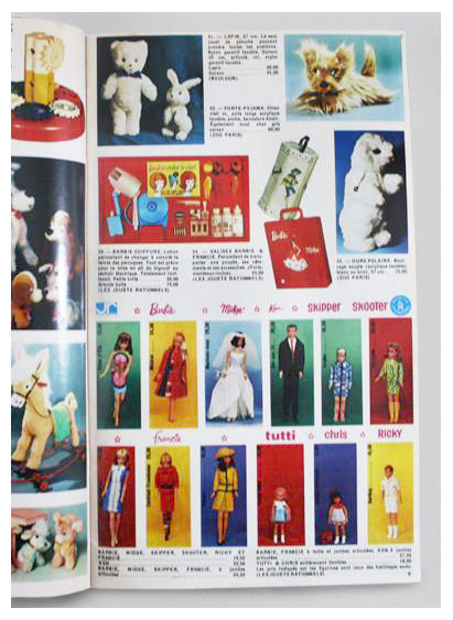 From 1967-68 French Jeux & jouets catalogue