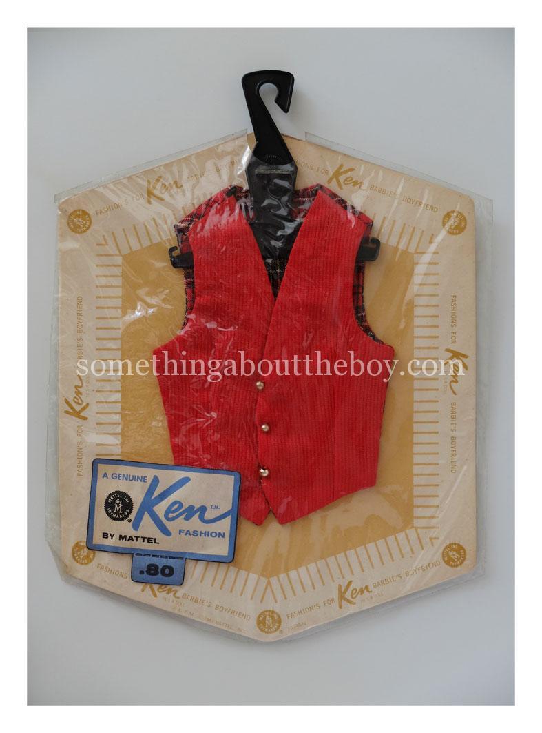1962 Red Vest in original packaging