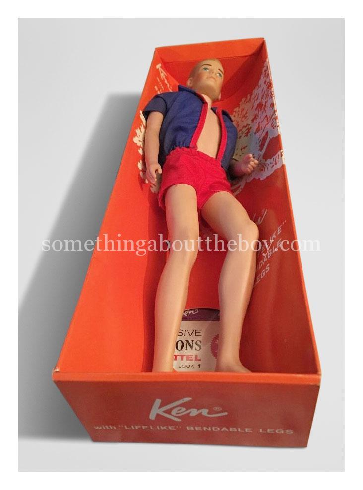 1966 #1020 Ken in original packaging
