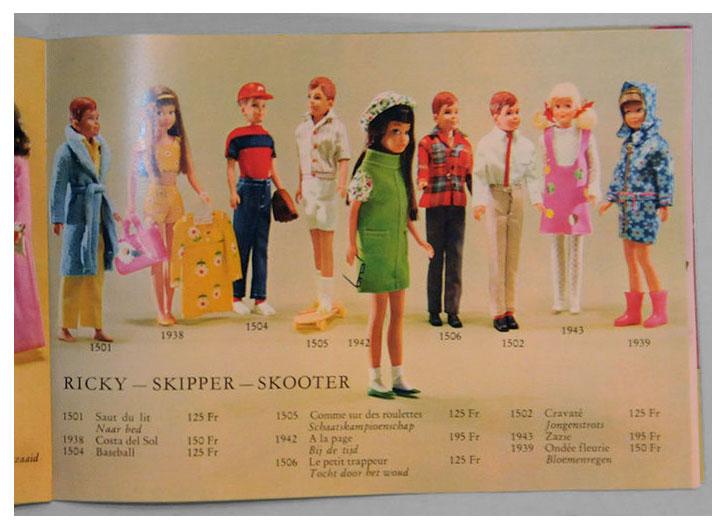 From 1967-68 Belgian Ebiex Mattel booklet