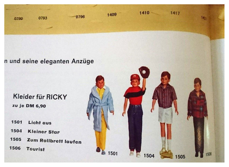 From 1968 German Mattel Spielzeug catalogue