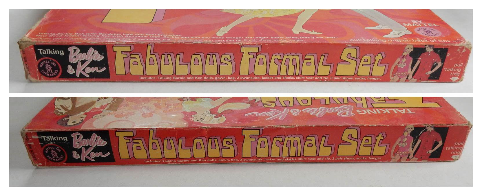 1969 #1595 Sears Fabulous Formal Set packaging detail