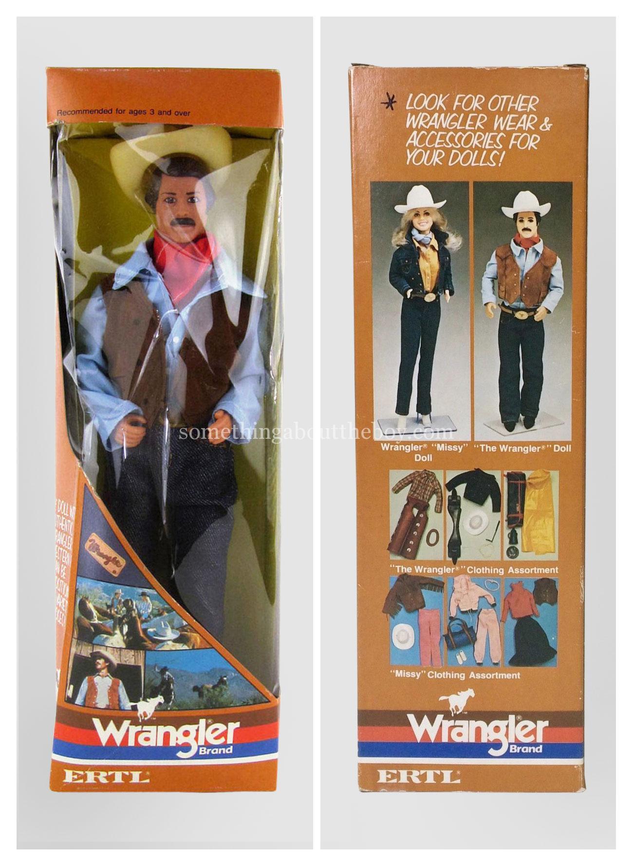 1980s 'The Wrangler' doll by Ertl