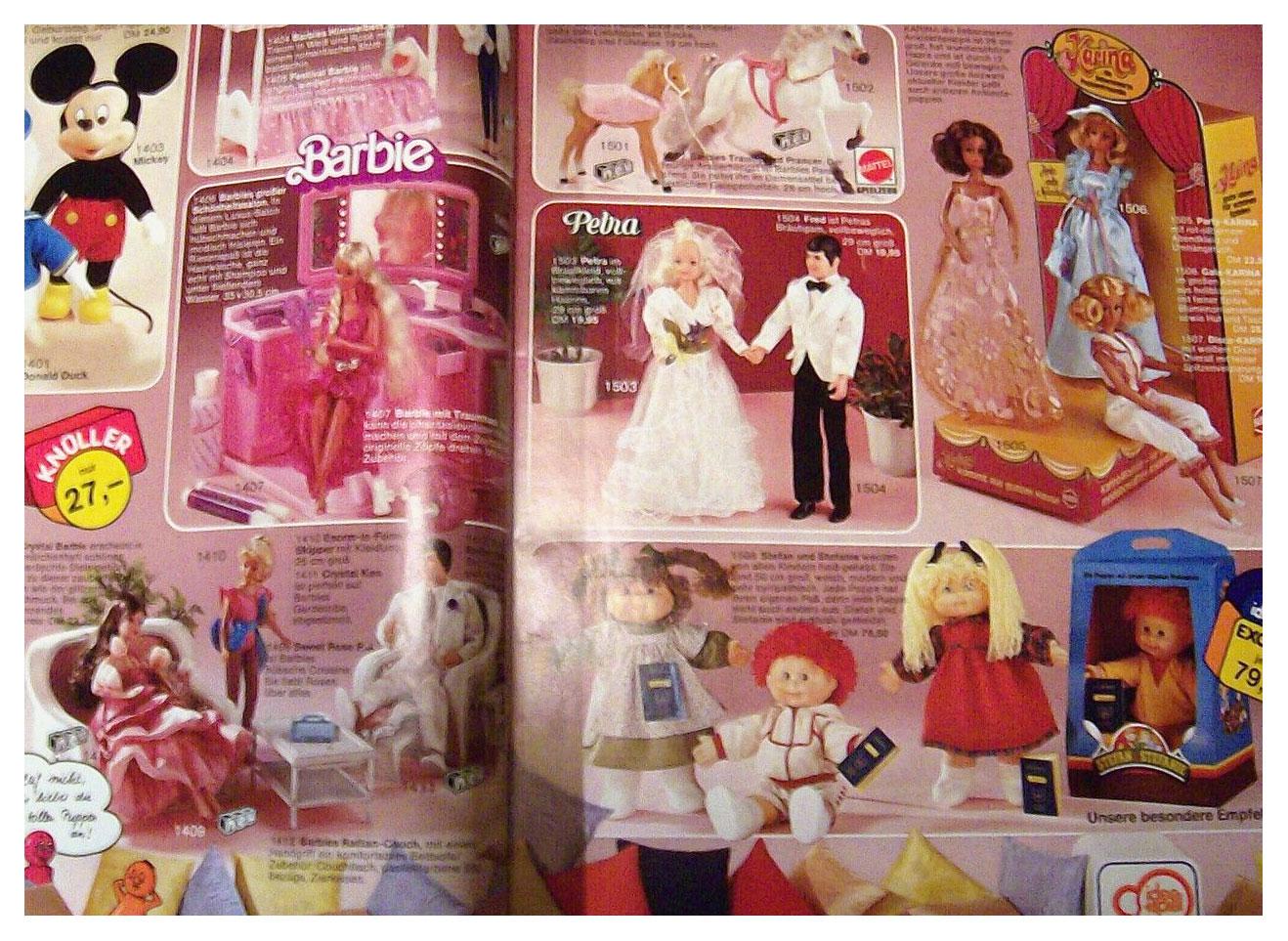 1984 German Steiner toy catalogue
