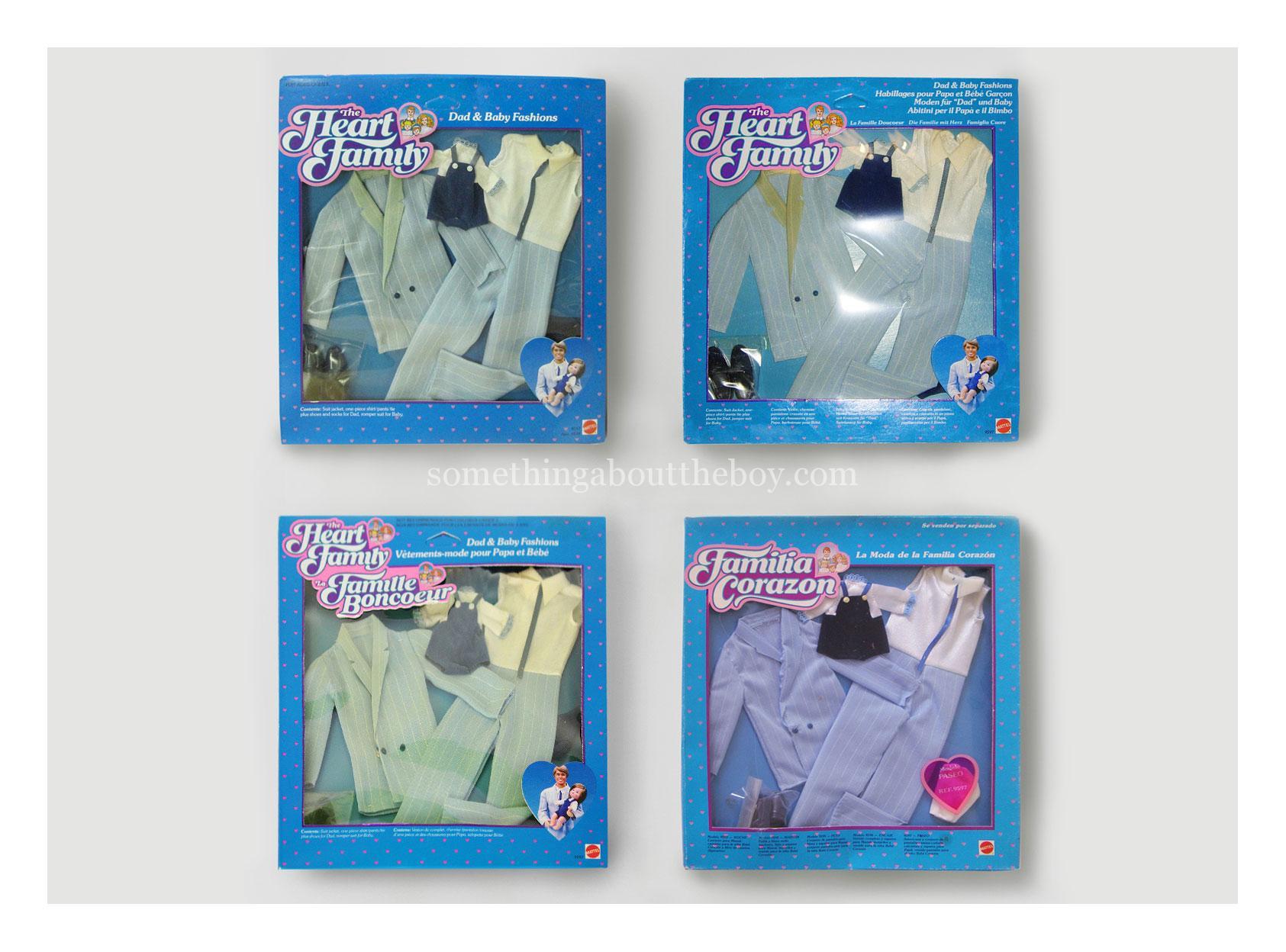 1985 #9597 Dad & Baby Fashions